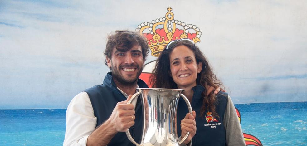 Rafael Díaz Benalterapia, campeón vela